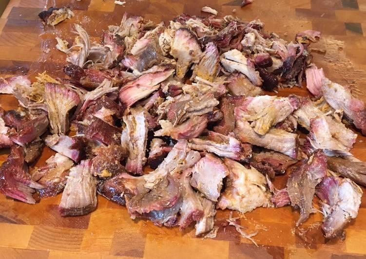 Épaule de porc fumée BBQ