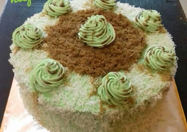 12 - Klepon Cake (versikukus)