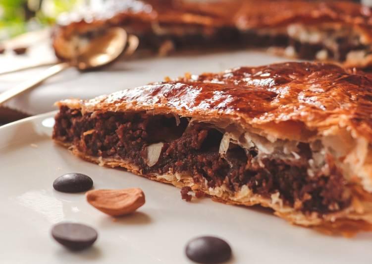 recette Frangipane au chocolat et amandes Le plus simple