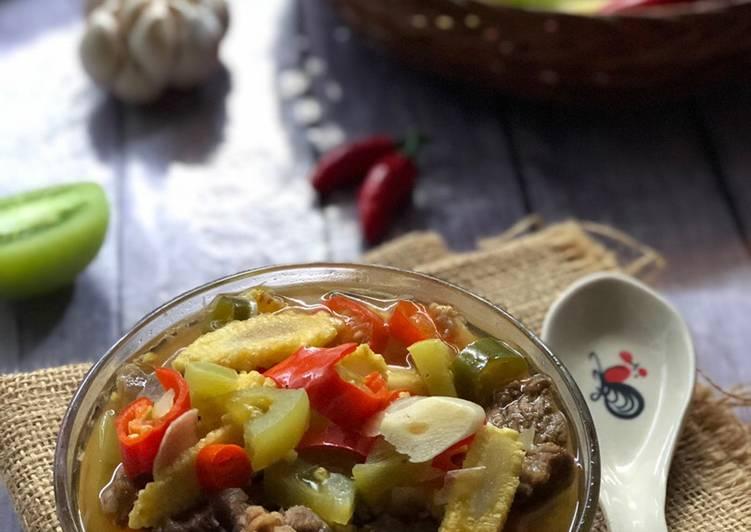 Asem-Asem daging Sapi ala Tiger Kitchen