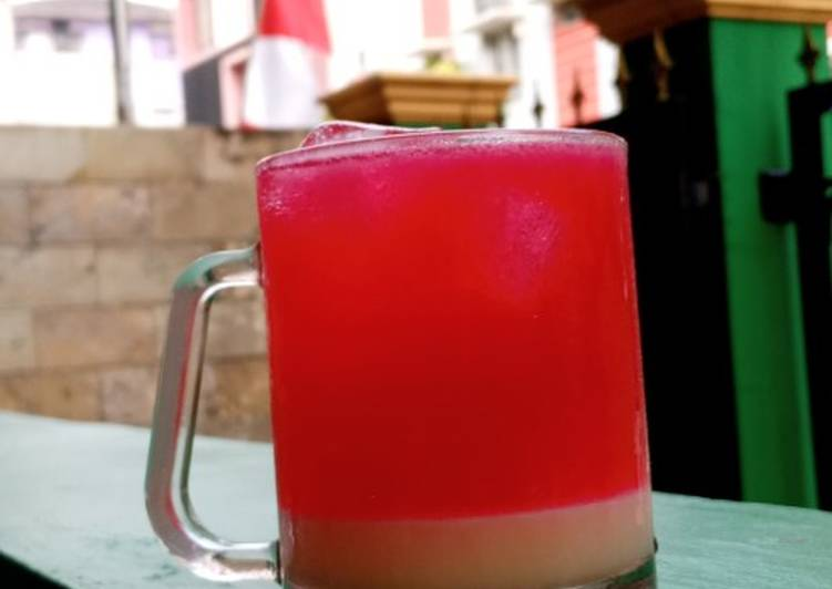 Soda Gembira Merah Putih