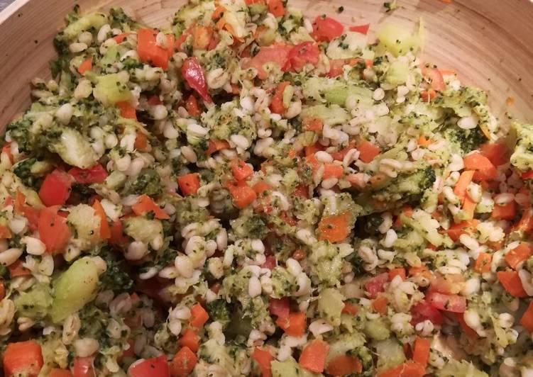 Blé aux petits légumes
