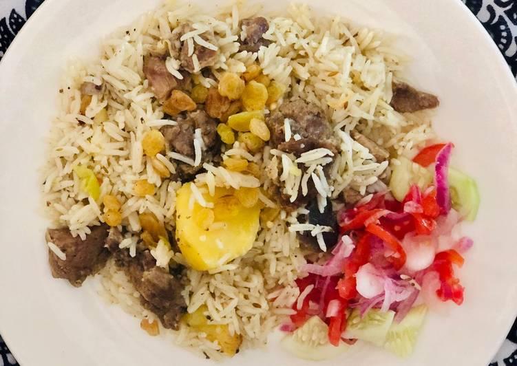 What are some Dinner Ideas Vegan Zanzibari Pialu/Pilaf