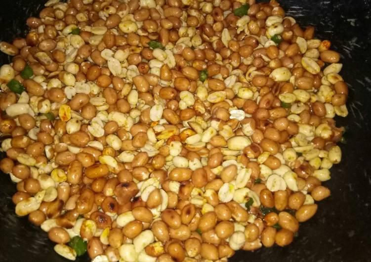 Peanut stir fry
