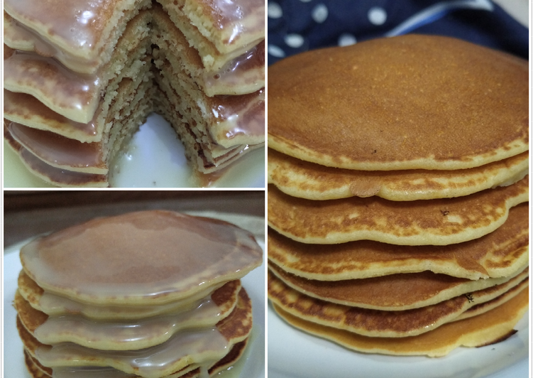 Resep Simple pancake Terbaik