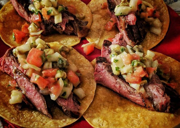 Consume These 14 Superfoods to Go Green for Optimal Health Flank Steak Tacos