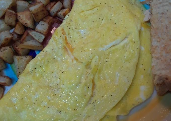 Easy Cheese Omelet