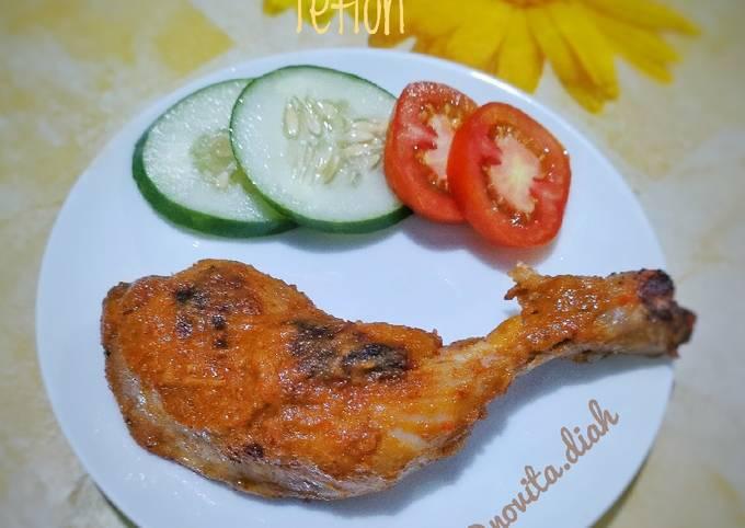 Paha Ayam Bakar Teflon