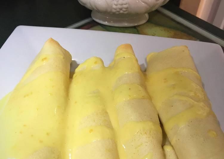 Chicken Cordon Bleu Crepes