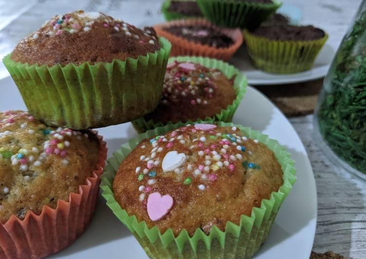 Cupcake Pisang dan Coklat