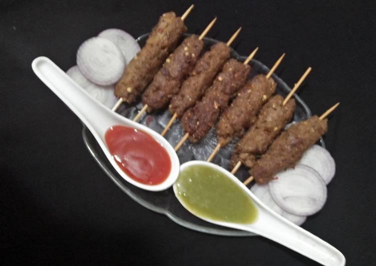 30 Minute Easiest Way to Make Quick Seekh kabab #CookpadApp #ramadankitayari