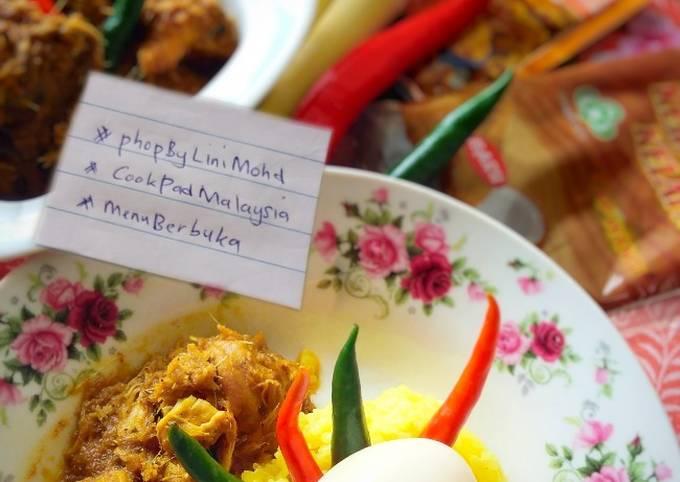 PULUT KUNING D'RAJA #menuberbuka #phopbylinimohd #cookpadmalaysia