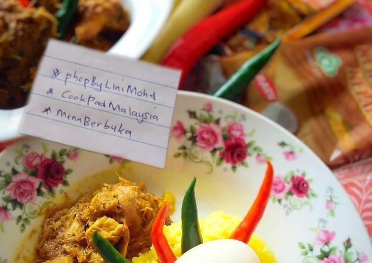 Cara Mudah Masak: PULUT KUNING D'RAJA #menuberbuka #phopbylinimohd #cookpadmalaysia  Sempena PKP