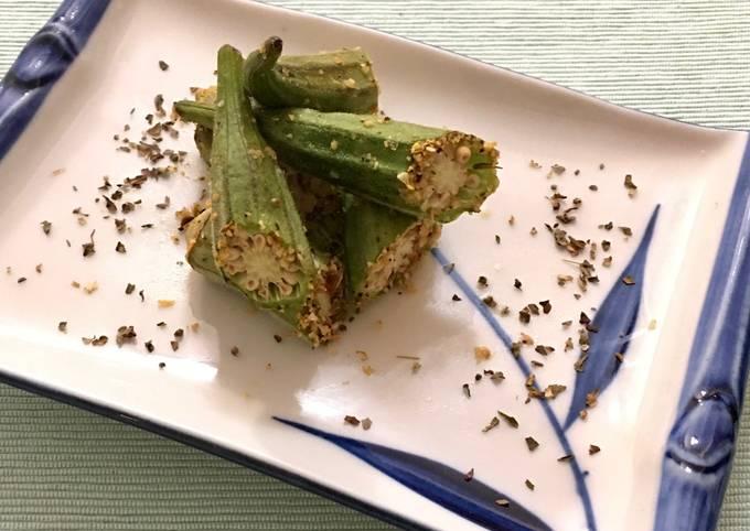Easy Italian-Style Roasted Okra