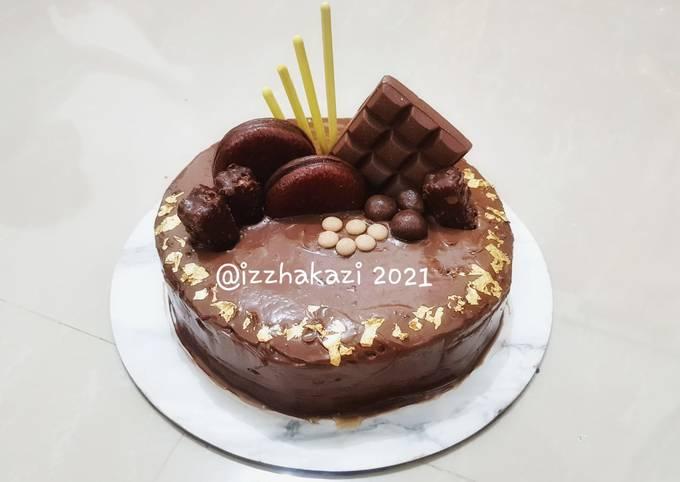 Cake Coklat Nyoklat (skip diet, please...😁)