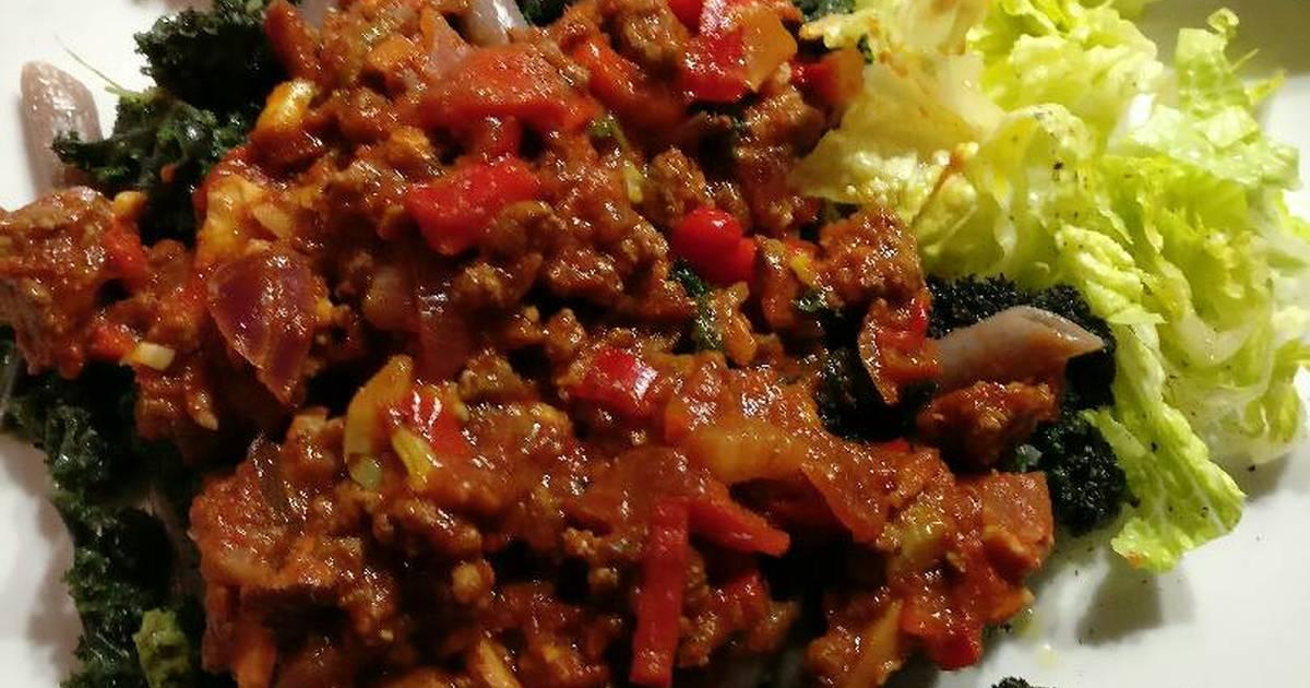 Quick venison bolognese sauce