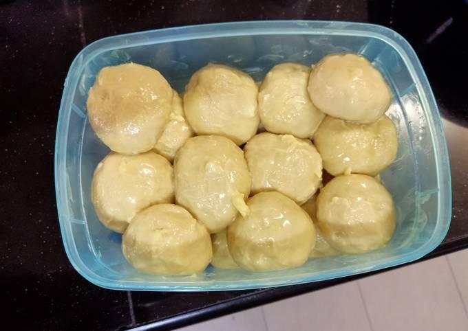 Dough Roti Canai #bazaarramadan