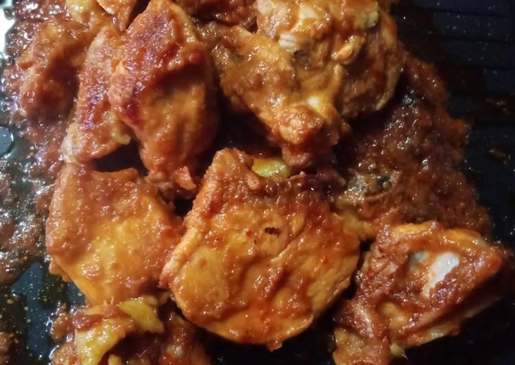 Ayam bumbu Taliwang Sederhana
