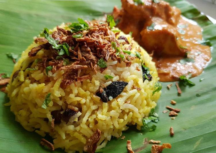Old Fashioned Dinner Ideas Quick Malaysian Biryani Rice - Nasi Briyani