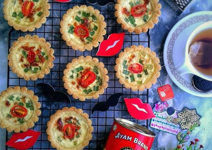 Resep Tomato & Mackerel Tarts #phopbylinimohd yang Enak