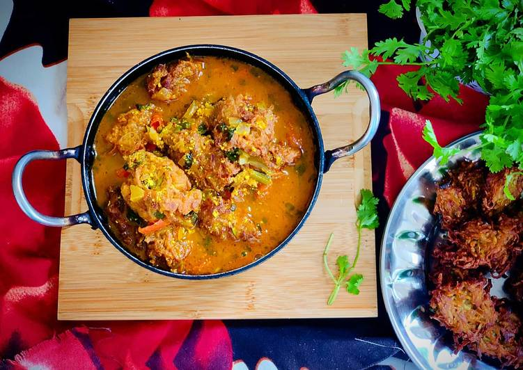 Step-by-Step Guide to Prepare Ultimate Bottle Gourd Fritters Curry