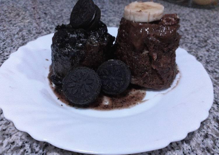 Cake express🎄 de oreo, turrón y plátano