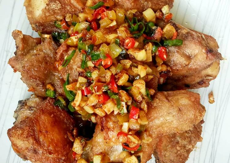 Chicken Garlic (Ayam Goreng Bawang)