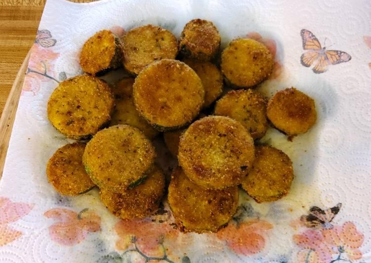 Lee's Pan Fried Zucchini