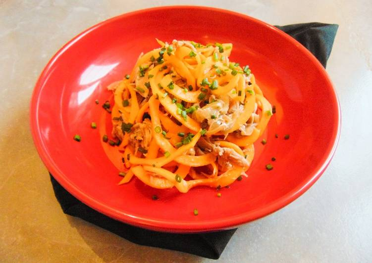 Slow Roasted Turkey with Butternut Squash Noodles
