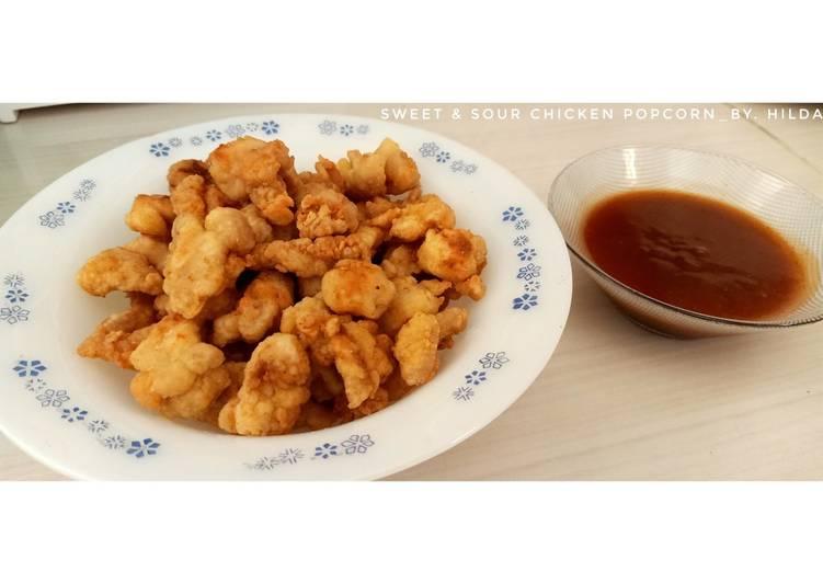 Sweet & Sour Chicken Popcorn