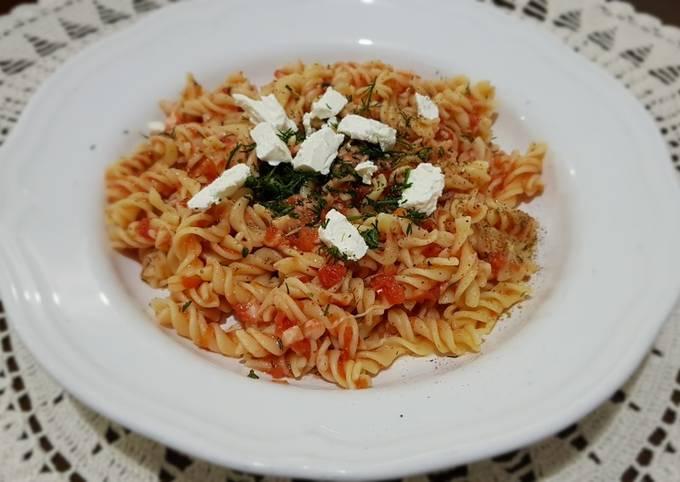 Romantic Times Cheese and Tomato pasta #mycookbook