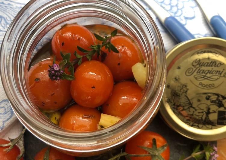 Ricetta Ciliegino (in vaso cottura)dai profumi mediterranei