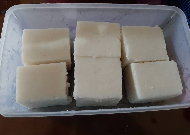 Lontong Bubur/Lontong Ayak Rice Cooker