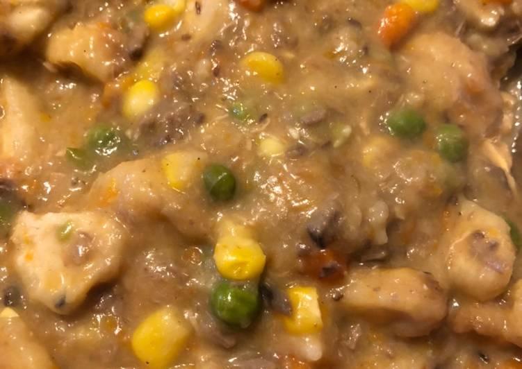 Chicken Nugget Soup!