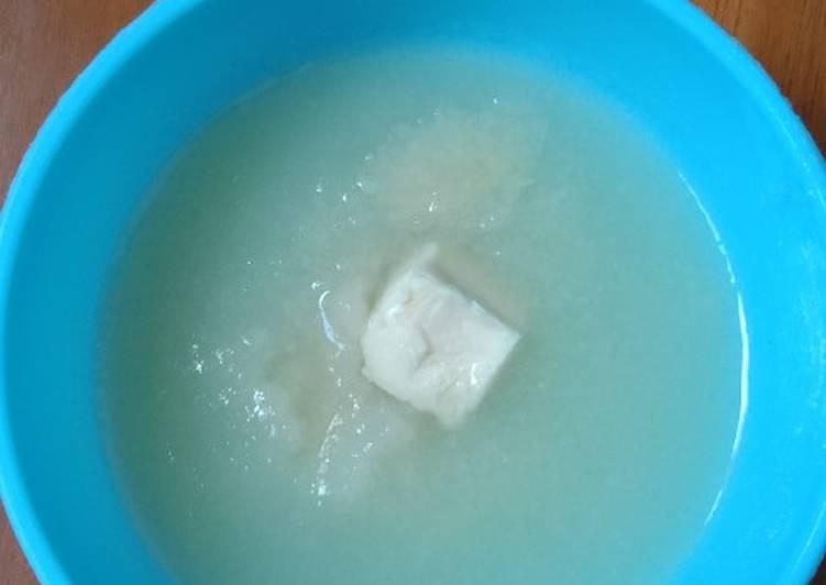 Cara membuat Snack mpasi 6 bulan Puree Cheese Pear