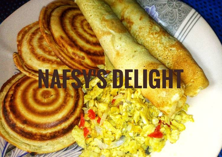 Pancake with scrambled egg, Helping Your Heart with Food