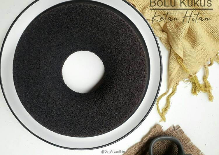 Resep Bolu kukus ketan hitam yang Menggugah Selera
