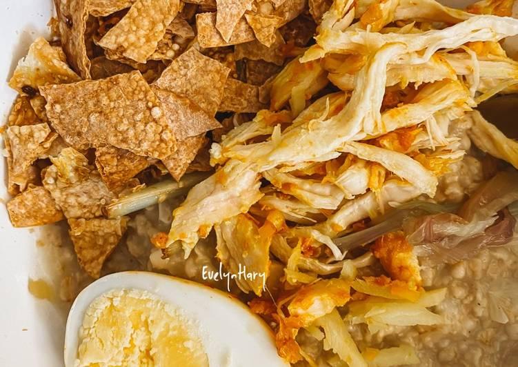 Bubur ayam oatmeal terenak