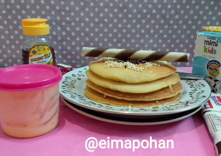 Resep Pancake Wijen Yummy Terbaik