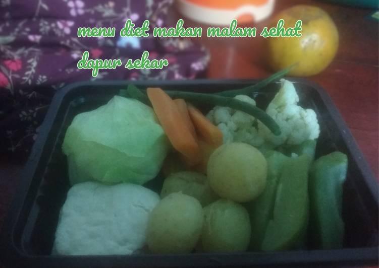 Menu Diet Sehat Untuk Makan Malam