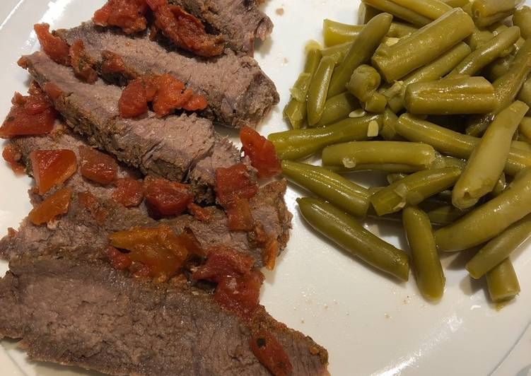 Baked London Broil