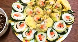 Hình ảnh món Thịt băm, rau củ cuộn cải thảo ??♀️??♀️ Dành cho những bạn lười ăn rau nè