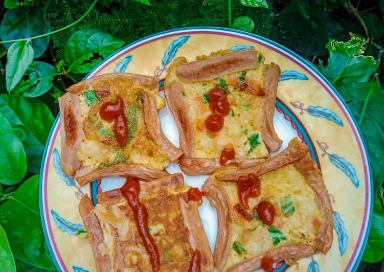 Resep Pancake sosis Paling Top