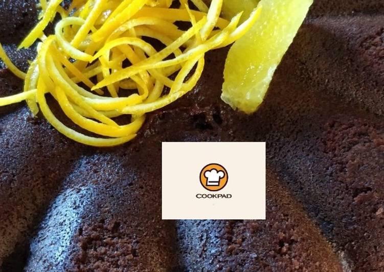 recette Gâteau au chocolat et orange délicieux