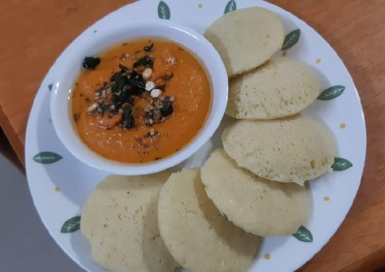 Steps to Make Quick Yellow Mungdal Idli (No Rice Idli)