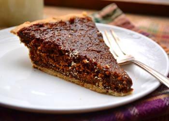 How to Prepare Delicious Old Fashioned Molasses Pie