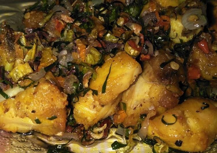 gambar resep ayam tumis sambal matah untuk bekal