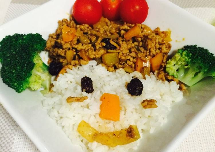 Turn to Food to Improve Your Mood Curried rice