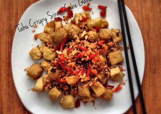 Resep Tahu Crispy Siram Cabe Garam Oleh Dian Arisa Cookpad