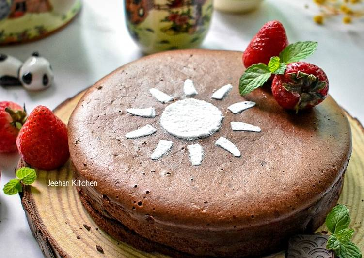 Japanese Chocolate Cheesecake 3 Bahan